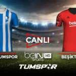 Erzurumspor Beşiktaş maçı canlı izle! BeIN Sports Erzurum BJK maçı canlı skor takip!