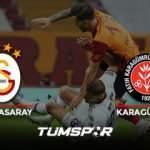 Galatasaray Karagümrük maçı geniş özeti ve golleri (BeIN Sports) Aslan evinde kayıp!