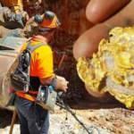 Hükümet göz açtırmıyor! 340 tona altın çıkarıldı