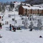 Kartepe'de ilkbaharda kayak keyfi