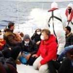 Lastik botun motorunu bozup 15 göçmeni Türkiye'ye ittiler