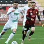 Lider Giresunspor, Eskişehirspor'u farklı geçti!