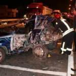 Manisa'da feci kaza: 2 ölü, 4 yaralı