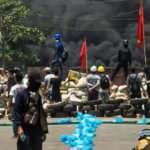Myanmar ordusu eylemcilere müdahale etti: 80 ölü
