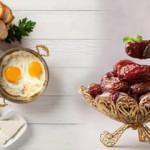 Ramazan'da sağlıklı beslenmek için örnek Ramazan menüsü