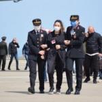 Şehit Pilot Gençcelep'in cenazesi, Trabzon'da