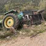 Traktörün el frenini çekmeyi unutunca, canından oldu