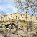2 asırlık taş evler turizme hizmet edecek