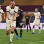 Dzeko, Roma'yı yarı finale taşıdı!