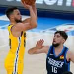 Golden State Warriors'ı galibiyete Stephen Curry taşıdı
