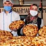 Amasya'da sıcak pideler İmren ustadan
