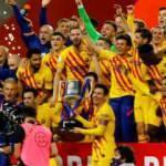 Messi rekor kırdı, kupayı Barcelona kazandı!