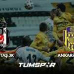 Beşiktaş Ankaragücü maçının geniş özeti ve golleri (BeIN Sports) Kara Kartal kanatlanamadı!