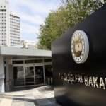 Dışişleri Bakanlığından Suriye'de rejim güçlerinin kimyasal silah kullanımına tepki