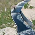 Esenyurt'taki Haramidere yine mavi aktı