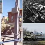53 yıl sonra tekrar ortaya çıktı! Rusya'nın tanklara çektiği boyaya dikkat