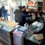 Pastanede bıçaklı kavga! Ortalık savaş alanına döndü