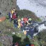 Sarıyer Garipçe'de otomobil uçuruma yuvarlandı