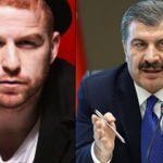 Şarkıcı Gökhan Özoğuz'un 'sorumsuz' ifadelerine Bakan Koca'dan cevap