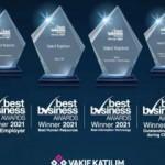 Vakıf Katılım'a 4 büyük ödül