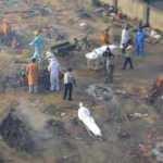 Salgın Hindistan'da kontrolden çıktı! Ürküten görüntüler