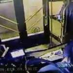 Beşiktaş'taki otobüs kazası kamerada!
