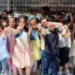Azez'de Suriyeli çocukların '23 Nisan' sevinci