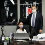Çebi: Koltuğumu Beşiktaş'ın ilk kadın başkanına devrettim