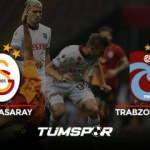 Galatasaray Trabzonspor maçı geniş özeti ve golleri (BeIN Sports) Fırtına attı Aslan yakaladı!