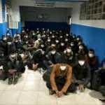 14 kişilik minibüsten 68 kaçak göçmen çıktı