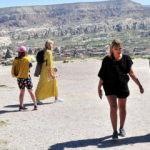 Kapadokya turistlere kaldı