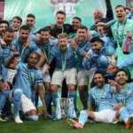 Manchester City, İngiltere Lig Kupası'nı müzesine götürdü!