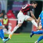 Hakan Çalhanoğlu'nun muhteşem golü Milan'a yetmedi!