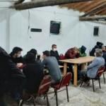 Tavuk çiftliğine kumar baskını: 37 kişiye para cezası