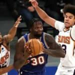 9 maçtır kazanan Knicks'i Suns durdurdu