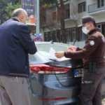 Aracına LPG almaya çıktı, evine yüz metre kala ceza yedi