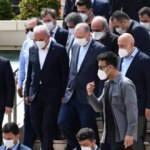 Cumhurbaşkanı Erdoğan, İsmet Yıldırım'ın babasının cenaze namazına katıldı
