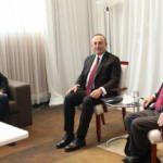 Dışişleri Bakanı Çavuşoğlu, Cenevre'de Crans Montana Forumu Kurucusu Carteron ile görüştü