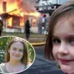 'Felaket kız' Zoe Roth, fotoğrafını servete dönüştürdü