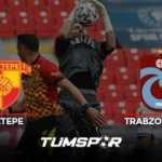 Göztepe Trabzonspor maçı geniş özeti ve golleri (BeIN Sports) İzmir'de puanlar paylaşıldı!