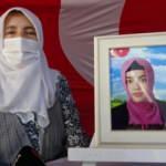 HDP önündeki yüreği yanık anne: Evladımın eli kalem tutuyordu, silah verdiler