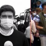 Otogardaki bombacı teröristler canlı yayında kadraja girmiş