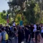 İşgalci İsrail güçleri, 7 ailenin tahliyesini protesto eden Filistinlilere saldırdı