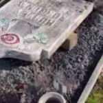 İsveç'te Müslüman mezarlığına çirkin saldırı