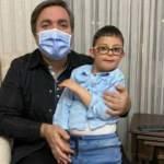 Kısıtlamada anonstan korkan özel çocuğa sürpriz ziyaret