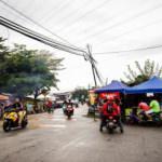 Malezya'nın ramazan pazarlarında renkli manzaralar