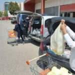 Markete aracıyla gidenlere ceza