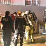 Sahur vakti çıkan yangın apartman sakinlerini sokağa döktü