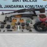 Siirt'te PKK'nın cephaneliği bulundu
