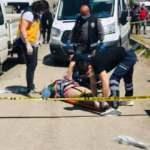 TIR'a çarpan minibüs savruldu: 1 ölü, 1 yaralı